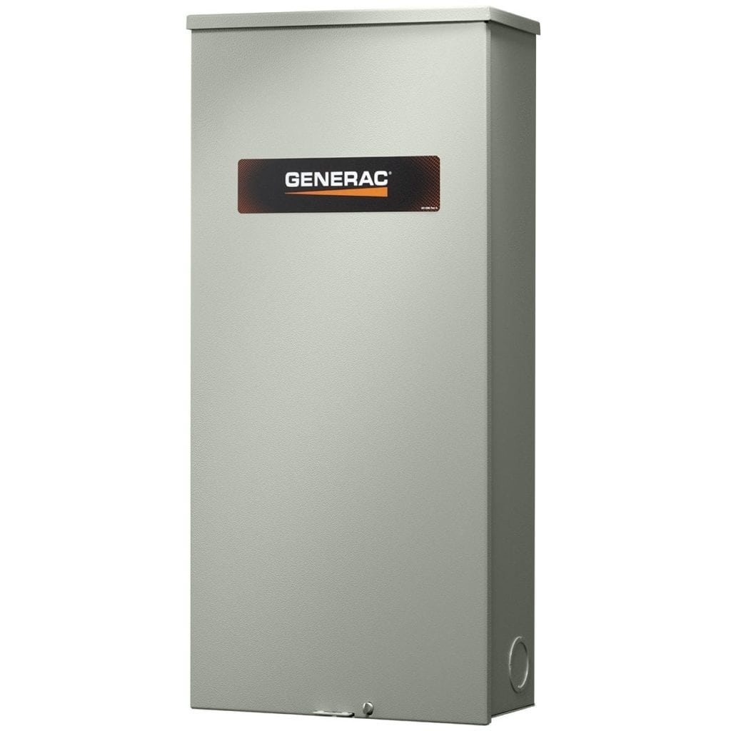 Generac 100 Amp Automatic Transfer Switch Nema 3R with 16 Space Load Center | RTG16EZA3