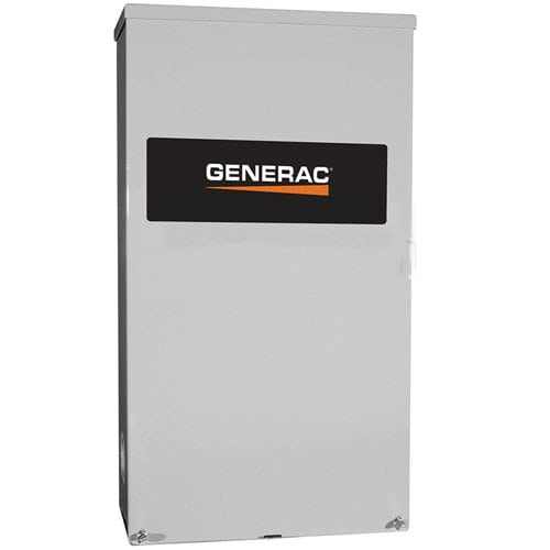 Generac 200 Amp Service Rated Automatic Transfer Switch Single Phase | RTSW200A3